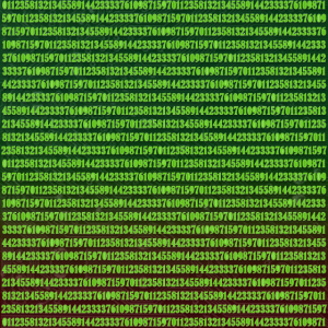 Textur Fibonacci Zahlen