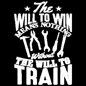 Der Wille zum Gewinnen