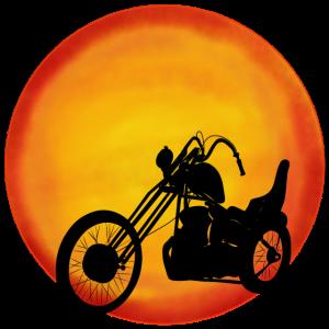 Chopper Sonne, Rocker, Biker