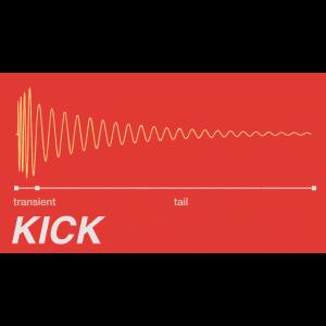 Kick Drum - DAW Producer Transient & Tail