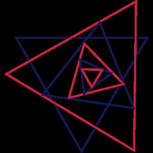 Dreieck, Grafik, geometrisch, abstrakt, Muster