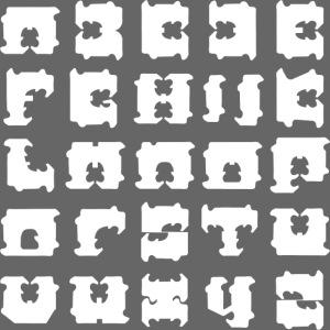 broodclip alfabet