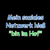 """Mein soziales Netzwerk hieß """"bin im Hof"""""""