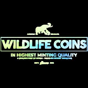 african wildlife coins