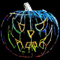 Halloween Kuerbis Farbe