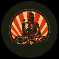 Buddha Sonnenaufgang
