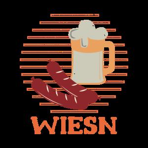 Wiesn Wiesen Oktoberfest Bier Wurst Geschenk Idee