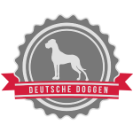 Label Doggen rundstempel