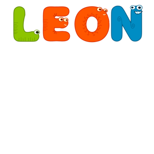 Männliche Vorname Leon Namen Monster Geschenk