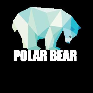 Süßer Polar Bear Bär Lustig Funny Geschenk