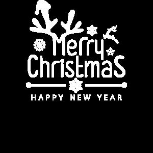 Fröhliche Weihnachten Weihnachtsgrüße Rentier Fest