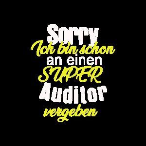 Ich bin schon an einen super Auditor vergeben