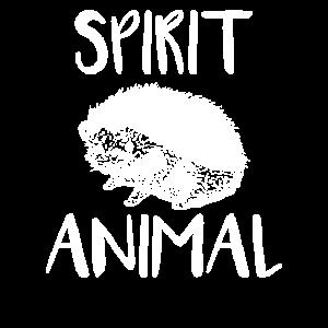 Igel Spirit Animal Tier Geschenk
