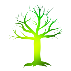 Giftgrüner Baum