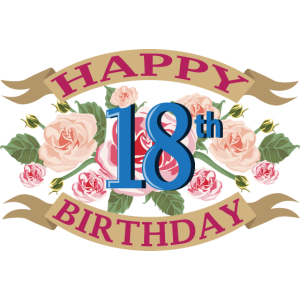 Herzlichen Glückwunsch zum 18 Geburtstag Geschenk