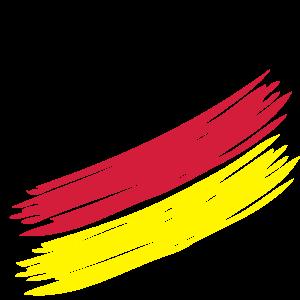German Stripes (small) - Deutsche Streifen (klein) - Germany - Deutschland