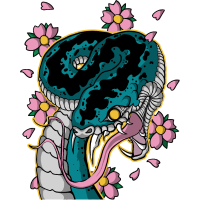 Japanische Schlange