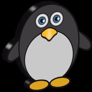 pinguin suess 3d 0c