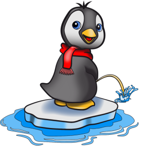 pinguin suess pinkeln 0c