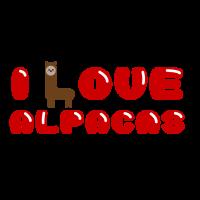 Ich liebe Alpakas