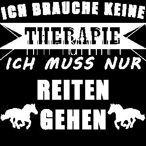 Pferd Reiten Therapie Geschenk