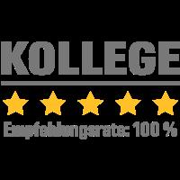 Empfehlungsrate 100 Prozent - kollege
