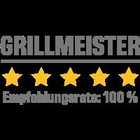 Empfehlungsrate 100 Prozent - grillmeister