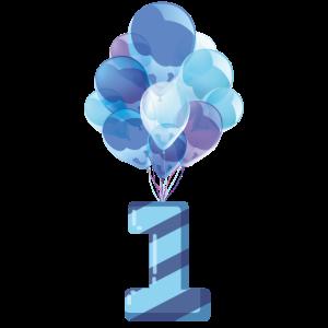 Babys erster Geburtstag (Junge)
