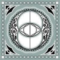 Vesica Piscis Chalice Well Keltisches Symbol