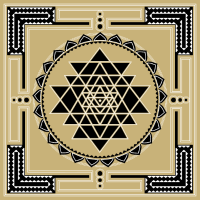Shri Yantra Lotus Heilige Geometrie Buddhismus