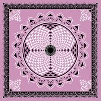 Sahasrara Chakra Mandala Heilige Geometrie Lotus