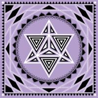 Merkaba Sterntetraeder Heilige Geometrie Lotus