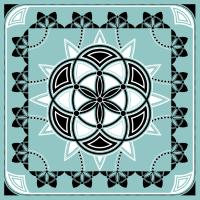 Seed of Life Heilige Geometrie Blume des Lebens