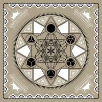 Metatrons Würfel Heilige Geometrie Körper