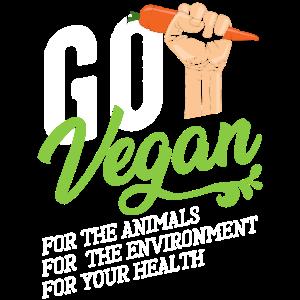 Go Vegan Vegan Veganer Veganismus Möhre Tiere