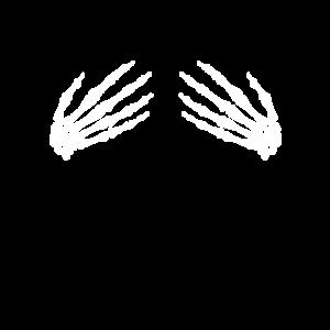 Skelett Hände Halloween