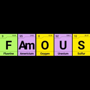 Famous Chemie Elemente Geschenk