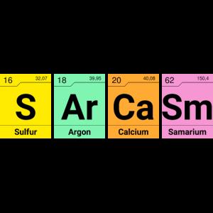 Sarkasmus Chemische Elemente