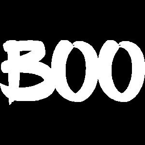 Boo Halloween Minimalismus