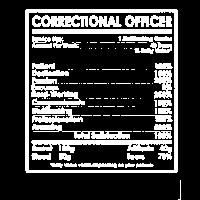 Correctional Officer Fakten Shirt