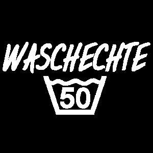 Geburtstag 50 textil Wäsche fünfzig