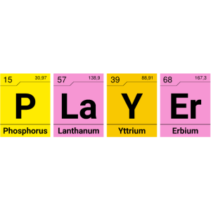 Player Chemie Elemente