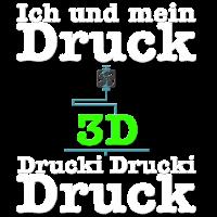 Ich und mein druck. 3D-Drucker, 3D, 3D Drucker