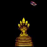 Golden Statue Shirt Randy Design