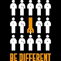 be different handstand shirt maenner frauen gift