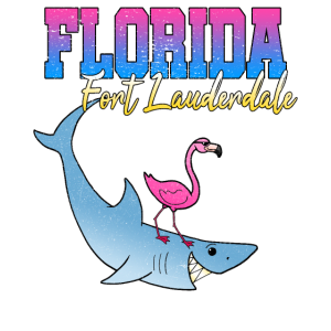 Florida Fort Lauderdale Hai Flamingo Strand Urlaub