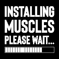 installing muscles loading shirt maenner frauen