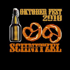 Oktoberfest 2018 Schnitzel