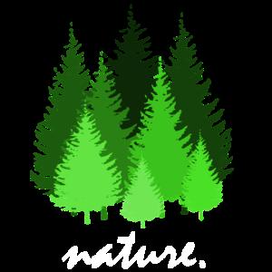 nature, wald, bäume, grün, natur, blätter