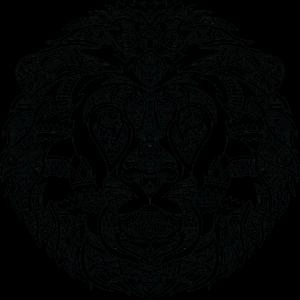 Löwenkopf edel
